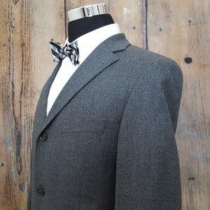 Hugo Boss Sport Coat Mens 50R Wool Blend Gray